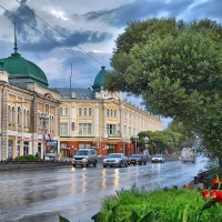 На выходные в Омске Любинский проспект снова стал местом творческих встреч