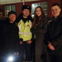 Топ-модель Влада Рослякова снялась для омской полиции