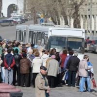 В Омске на Радоницу городские автобусы будут работать по специальным маршрутам