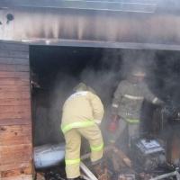 В гаражном кооперативе «Омич-25» в машине заживо сгорел автомобилист