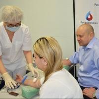 Сотрудники омского водоканала сдали 28 литров донорской крови