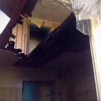 В Центральном округе Омска произошел сильный пожар