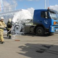 На АЗС «Газпромнефть» в Омске успешно прошли тактико-специальные учения