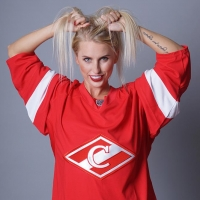 Сибирячка стала амбассадором хоккейного клуба Спартак
