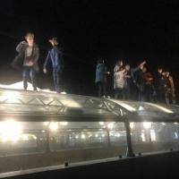 Омская полиция начала проверку по факту танцев на крыше подземного перехода