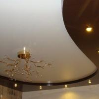 Многоуровневые натяжные потолки от производителя