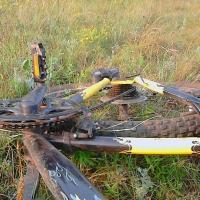 В Омске начался сезон сбитых велосипедистов