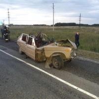 В страшной аварии под Омском погибли пятеро человек