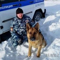 Полицейская овчарка нашла автовора по запаху в Омском районе