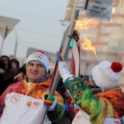 Эстафету олимпийского огня в Омской области посетило 105 тысяч зрителей