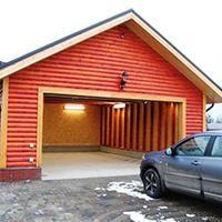 Как устроен каркасный гараж