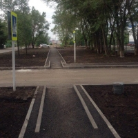 В Омске отремонтированы 222 тротуара и дворовых проезда