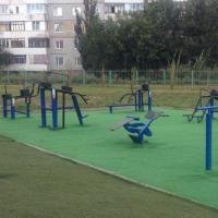 В Кировском округе Омска появился новый спортивный объект