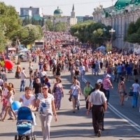 День города в Омске отметили 145 тысяч человек