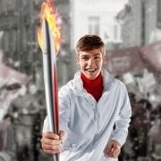 В Омске выбрали первых  факелоносцев для олимпийского огня Сочи
