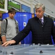 На выборах проголосовал Виктор Шрейдер