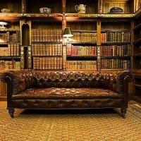 Какие цвета и материалы использовать при оформлении библиотеки?