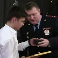В Омске наградили ребят, которые спасли упавшего в колодец ребенка