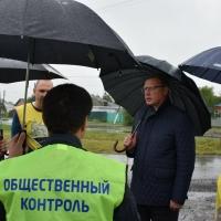 Бурков распорядился проработать программу по организации весового контроля на дорогах