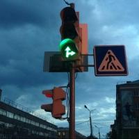 На светофоре у Континента появилась пешеходная фаза