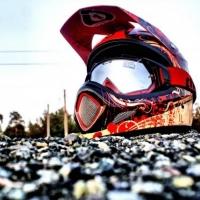 Под Омском погиб 25-летний мотоциклист