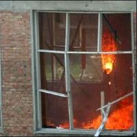 В Таре придется восстанавливать школу после пожара