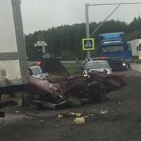 На трассе Тюмень-Омск за рулем ВАЗа разбился подросток