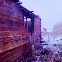 В Омском районе сельчанин украл куртку, DVD-диски и спалил дом