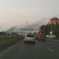 Омичи связали дым над Нефтяниками со сжиганием загубленных чумой свиней