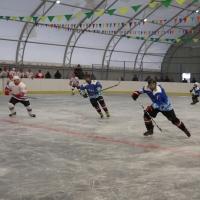 В Омской области появился крытый хоккейный корт