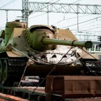 Омичи встретили «Поезд Победы»