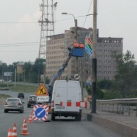 На мосту 60-летия ВЛКСМ в Омске установили новые камеры видеофиксации