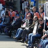 В акции «Бессмертный полк» в Омске примут участие люди с инвалидностью