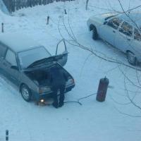 За морозные сутки в Омской области сгорело три автомобиля