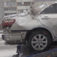 В Кировском округе Омска водитель автомобиля «Хово» зацепил три иномарки