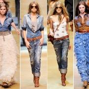 Лето - джинсы или платье?