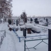 Жительница Омской области замерзла на кладбище