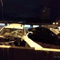 В ДТП на Ленинградском мосту пострадали пять омичей, в том числе ребенок