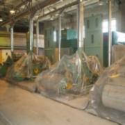 На заводе по производству медицинской ваты в Калачинске установлено основное производственное оборуд