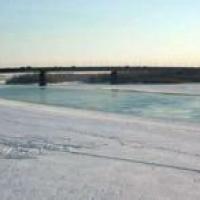 Омский блогер предупреждает горожан об огромной полынье на Иртыше