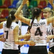 """Волейбольная """"Омичка"""" досрочно обеспечила себе участие в плей-офф"""
