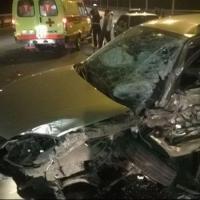 В массовом ДТП на Горбатом мосту в Омске пострадал водитель «КИА»