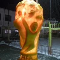 Омские осужденные сделали свой «Кубок Мира» по футболу