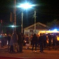 За вечер в центре Омска два водителя на «Тойотах» сбили трех девушек