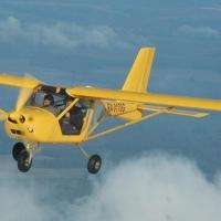 В Омской области вновь поймали нарушителя на самолете «FY-101»