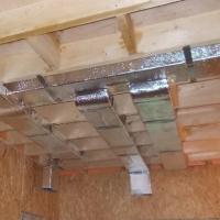 Вентиляция в каркасном доме из сип панелей