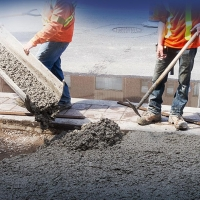 Процесс производства бетона