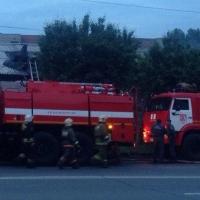 Во время тушения пожара в Омске спасатели нашли труп мужчины