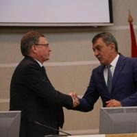 Врио губернатора Омской области поблагодарил своего предшественника