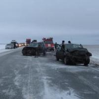 В страшной аварии на трассе Тюмень – Омск погибла женщина